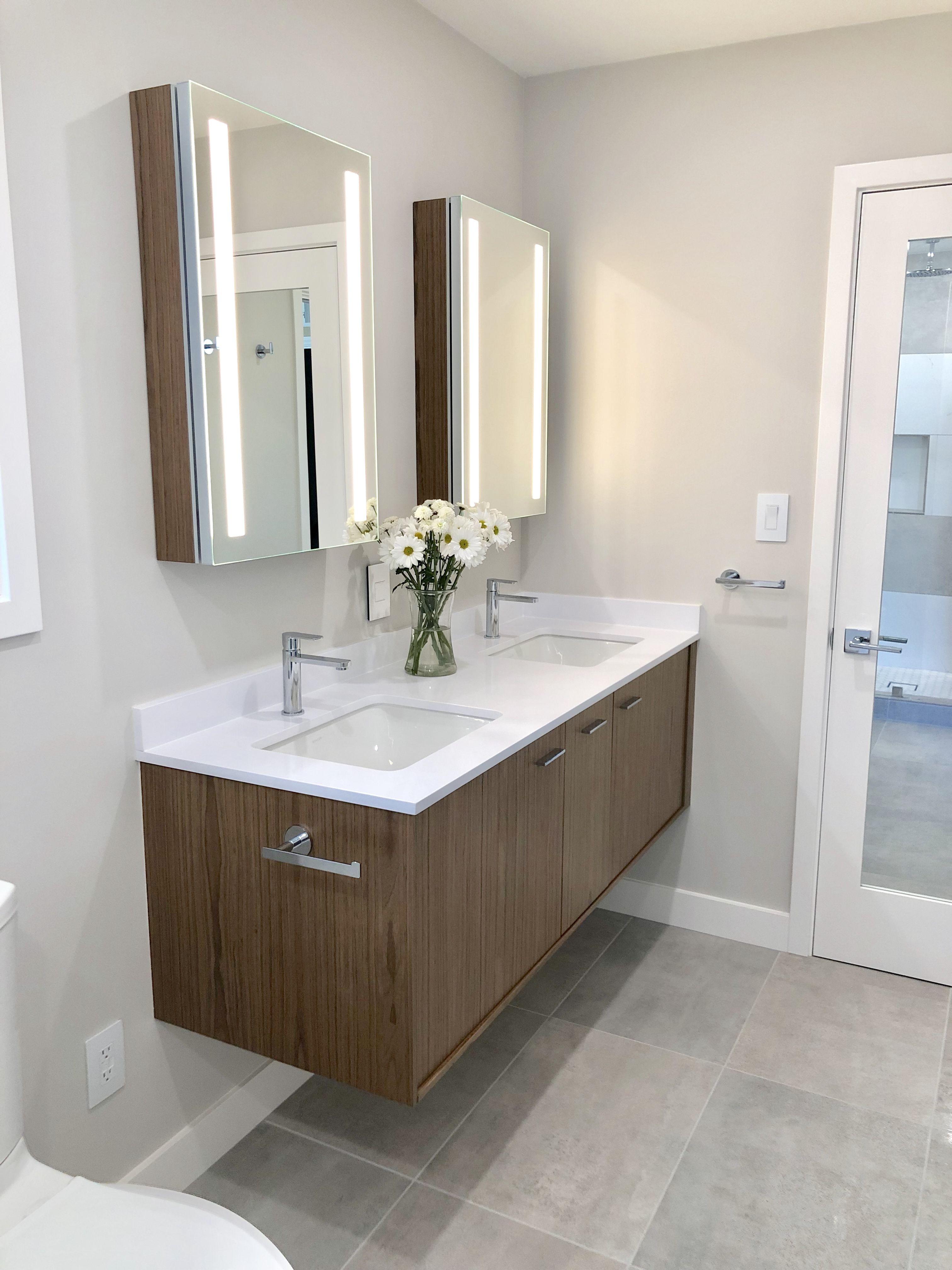 Kohler Jute Vanity Verdera Lighted Medicine Cabinets Walnut Bathroom Design Decor House Bathroom Designs Beautiful Bathroom Designs [ 4032 x 3024 Pixel ]
