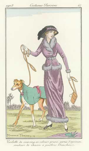 Journal Des Dames Et Des Modes. Paris, Volumes 1-3, 1912-1914.