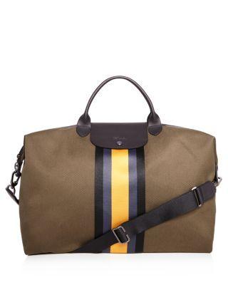 LONGCHAMP Cricket Duffel Bag.  longchamp  bags  canvas  leather   accessories  shoulder bags  hand bags  pouch   62d6d1f132270