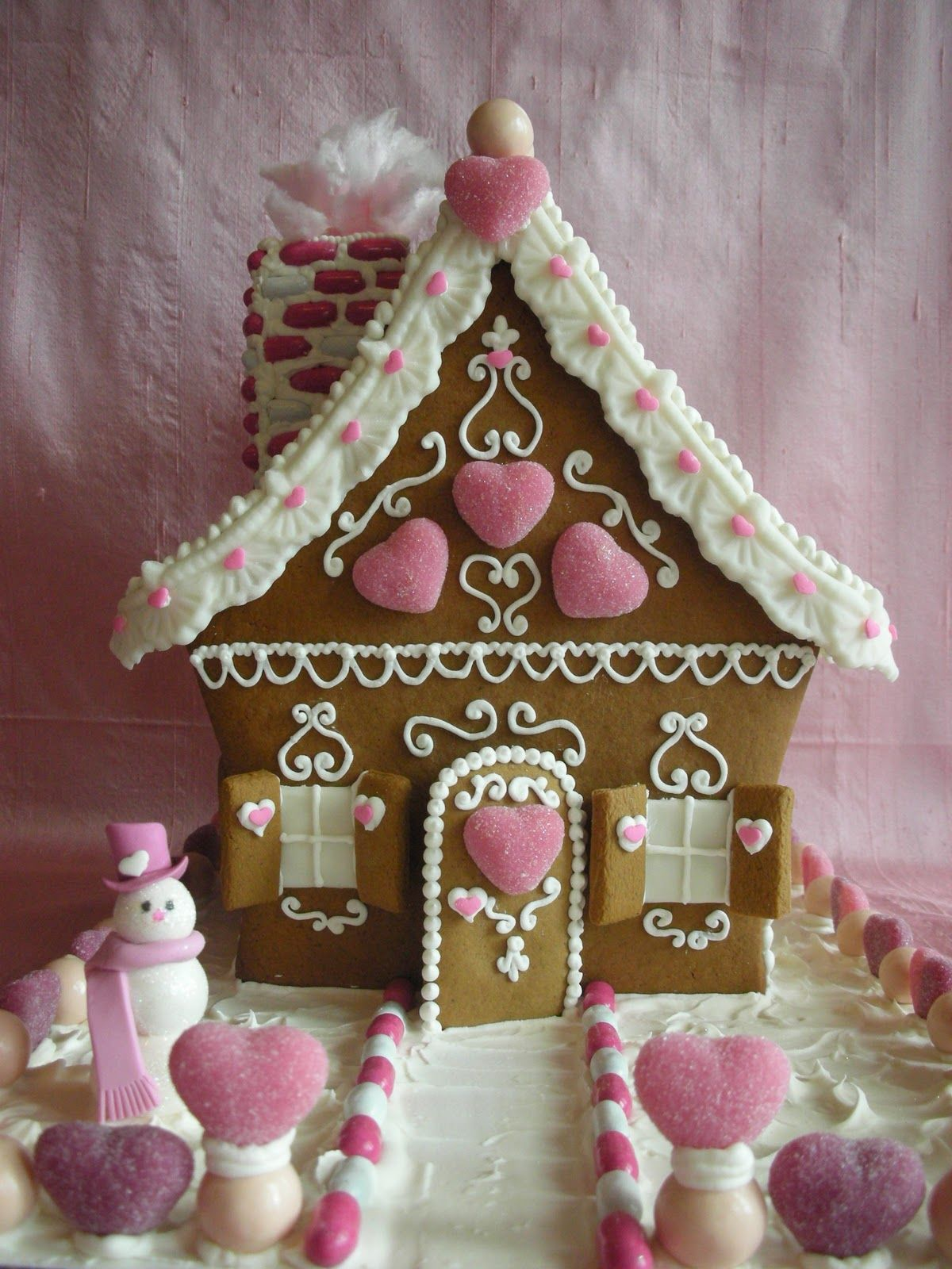 With Love & Confection: Valentine Gingerbread House by ...