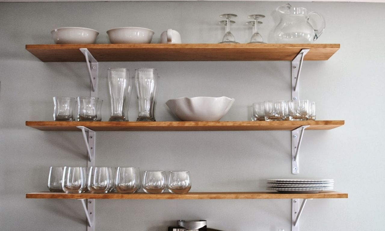 Wall To Wall Shelves 30+ incredible kitchen wall shelves design you have to see
