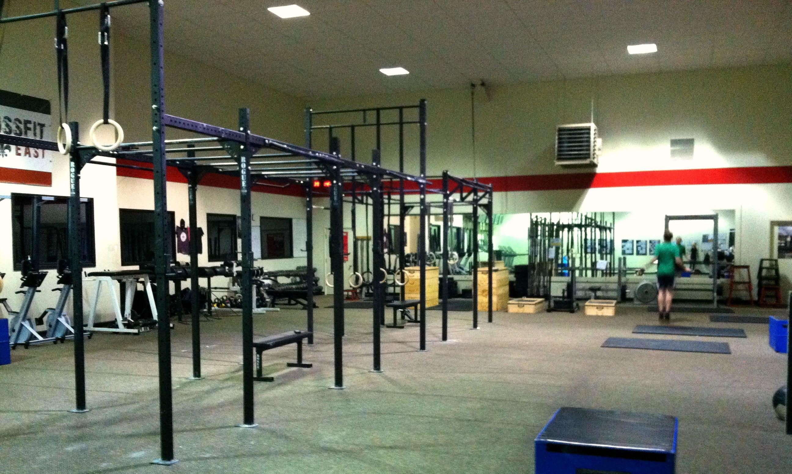 Warehouse gym design google search crossfit box