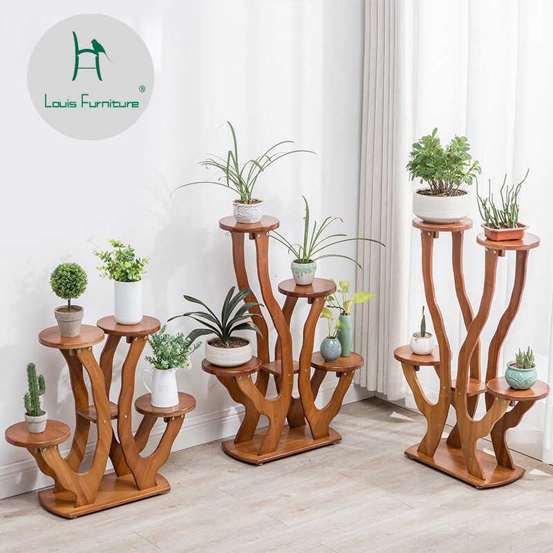 Orchid shelf of green lotus, living room bedroom f