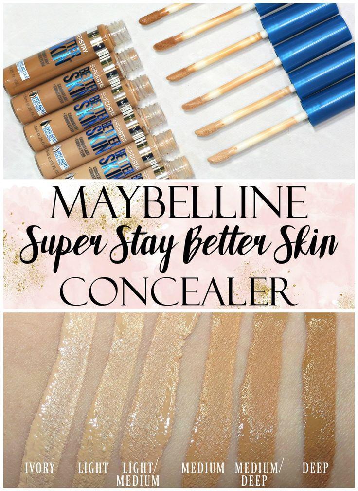 Maybelline Concealer Swatched Maybelline concealer
