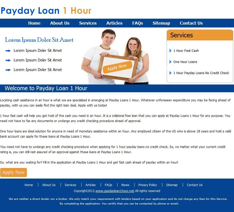 1 few days cash advance financial loans