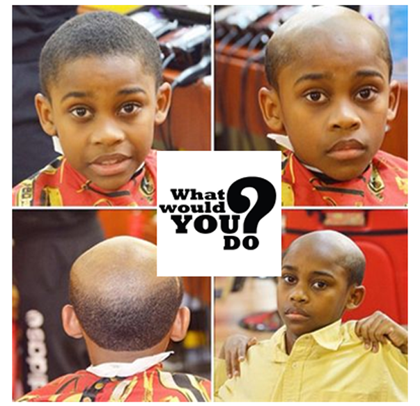 Barber Gives Kids Old Man Haircuts As Form Of Punishment