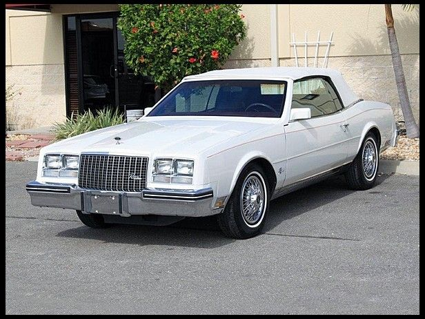 """1983 Buick Riviera. Had one we called the """"TANK"""" it was"""