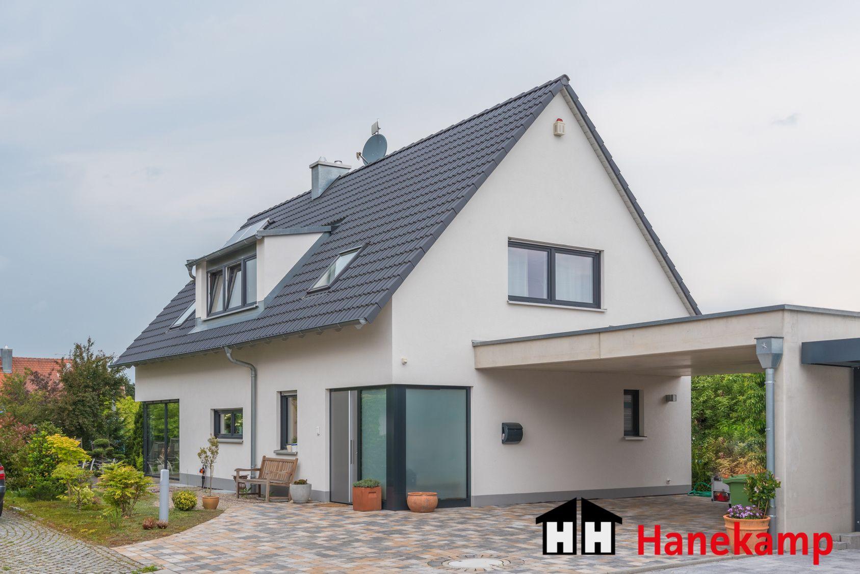 Pin von Hanekamp E. auf Einfamilienhäuser Haus, Carport