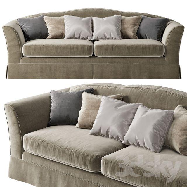 3d models Sofa TOSCONOVA Margot sofa