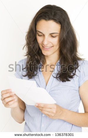 woman with letter - Cerca con Google