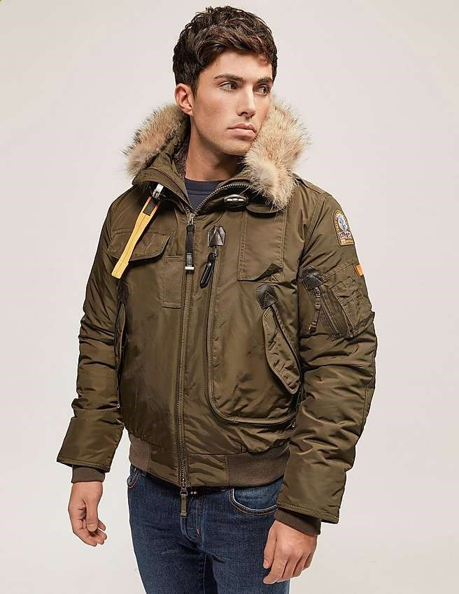green Parajumpers Gobi Bomber Jacket