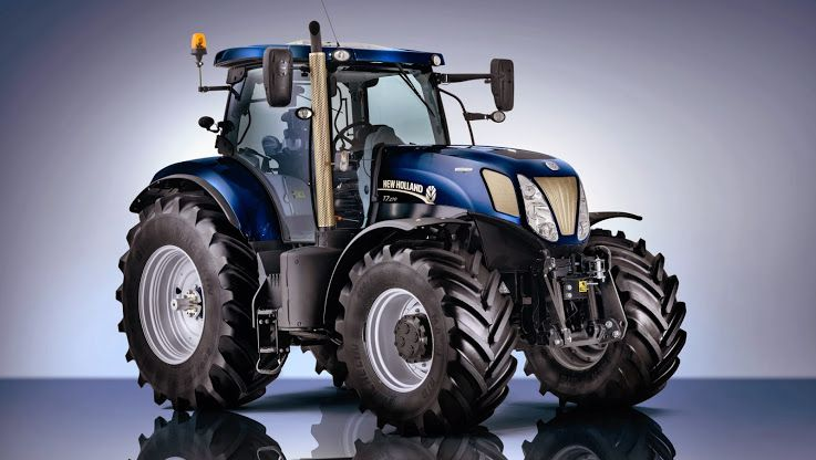 Golden Jubilee New Holland Tractor New Holland Tractor Tractors
