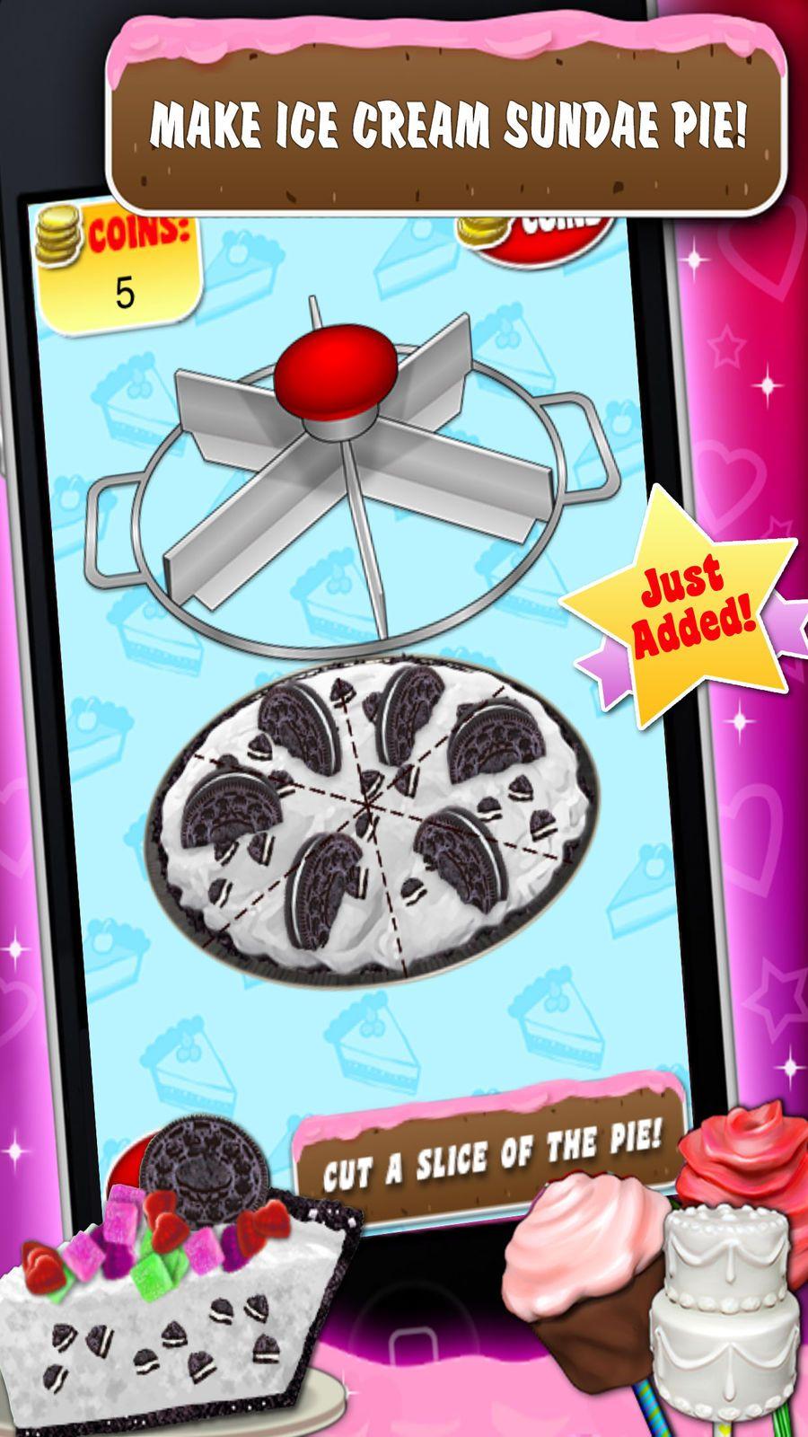 Sweet Dessert Maker Games FamilyInteractiveSimulation