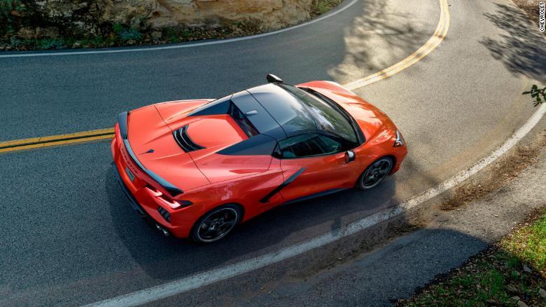 Gm Unveils First Corvette Convertible With A Hardtop Roof Corvette Convertible Corvette Chevrolet Corvette Stingray
