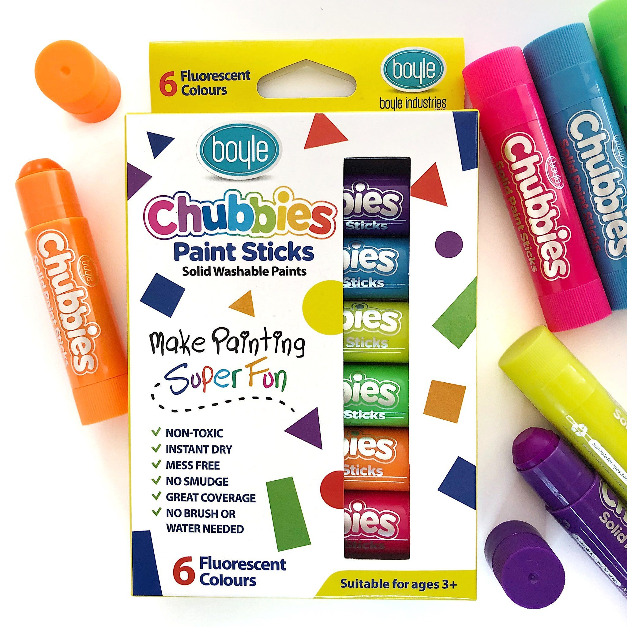 Chubbies paint sticks with images painted sticks how