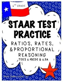 6th grade math staar ratios rates proportions teks 64b 64c 64d 2 sets of 10 over ratios rates and proportional reasoning for 6th grade math this is a 12 page document which includes a teacher answer key malvernweather Image collections