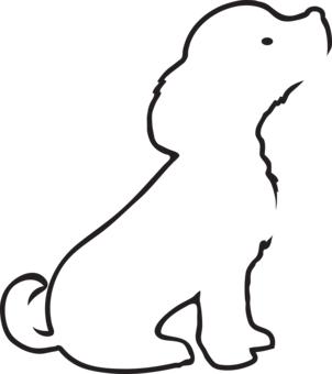 dog outline t shirt designs wordans usa dog party pinterest dog outline tattoo and. Black Bedroom Furniture Sets. Home Design Ideas
