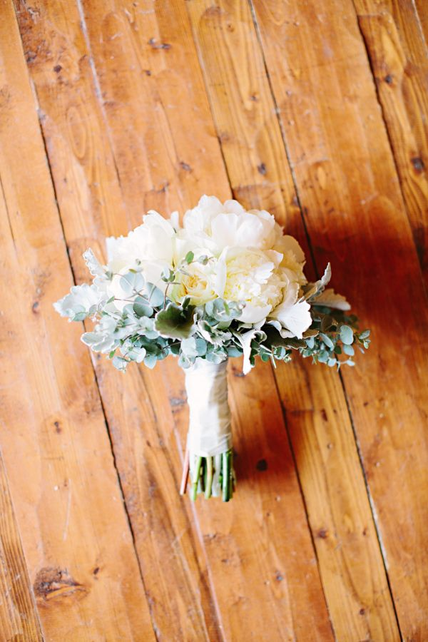 bouquet with eucalyptus photo by Tess