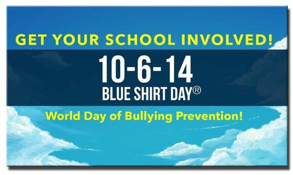 Has your school signed-up to participate in Blue Shirt Day®