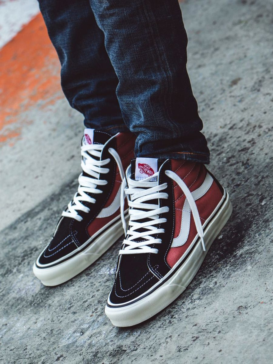 fafdf6a265bb13 Vans Sk8-Hi 38 DX Anaheim Factory - Orange Rust Black - 2017 (by 43einhalb)
