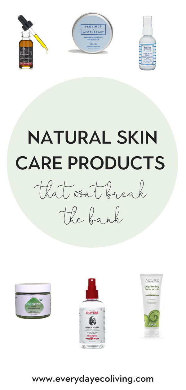 Natural Skin Care Products That Won T Break The Bank Everydayecoliving Skin Care Secrets Anti Aging Skin Products Skin Care Women