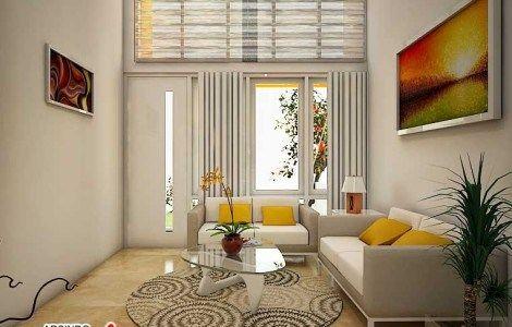 90 desain ruang tamu 3x3 minimalis ideal | ruang tamu
