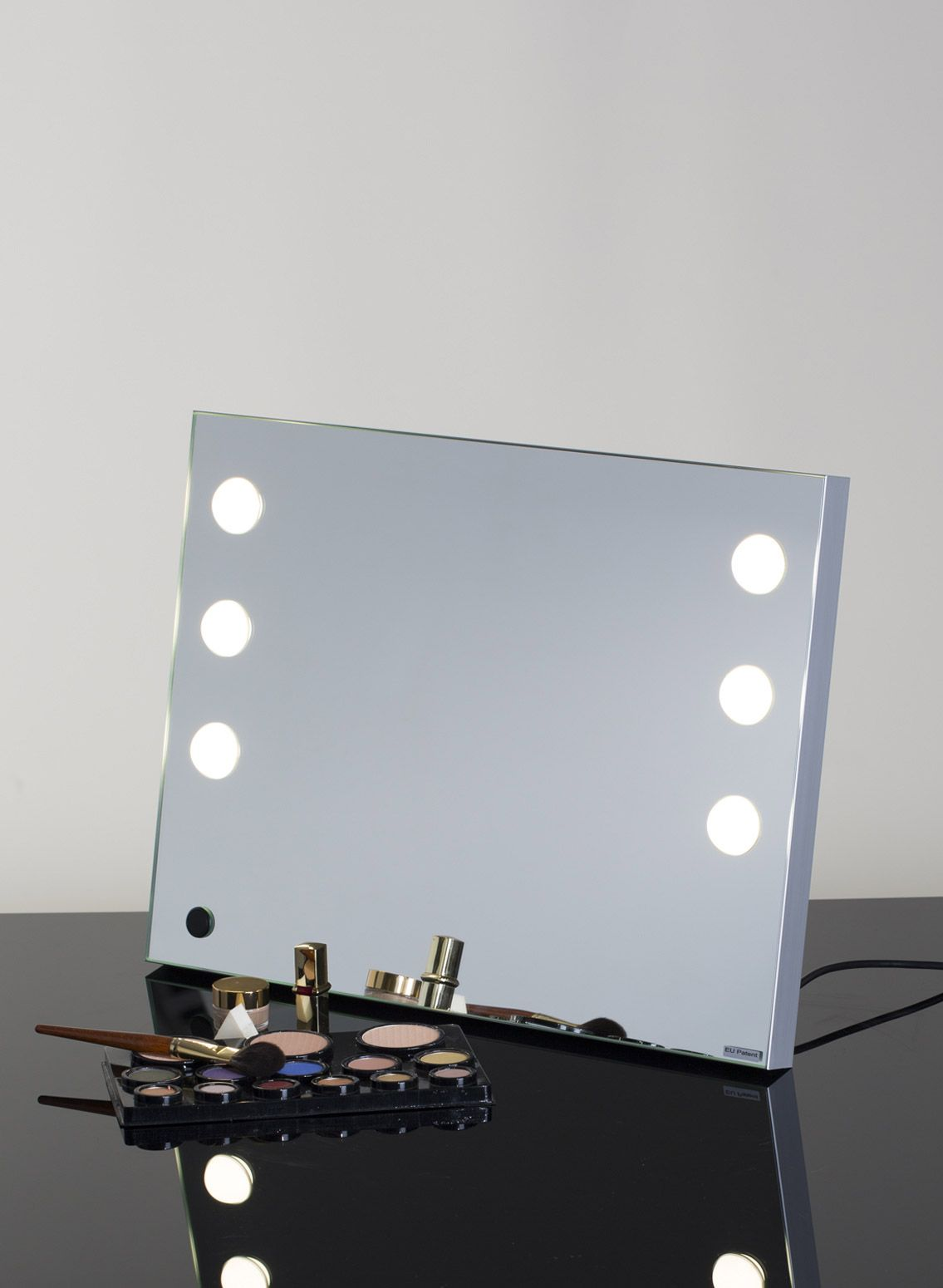 Portable Vanity Mirror With Lights Enchanting Portable Vanity Mirror With Professional Lights  Makeup Vanities 2018