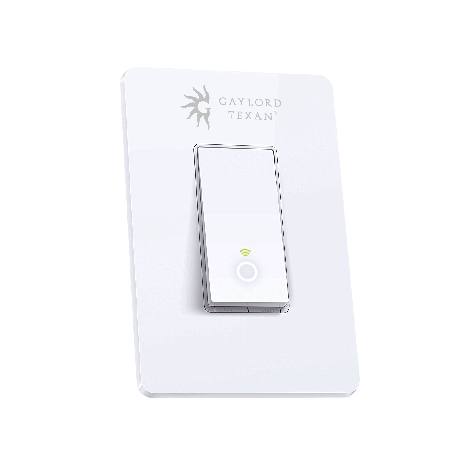 Tp Link Smart Light Switch Control Your Fixtures With This Simple Switch By Tp Link From The Ceiling Fan To The Lights Ou Smart Lighting Tp Link Light Switch