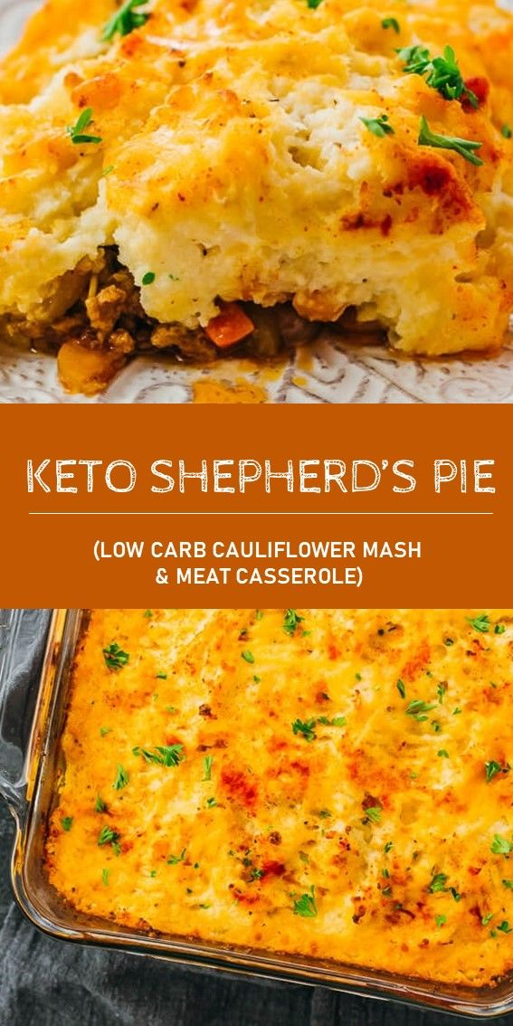 Keto Shepherd S Pie Low Carb Cauliflower Mash Meat Casserole Low Carb Mashed Cauliflower Healthy Pie Recipes Keto Recipes Dinner