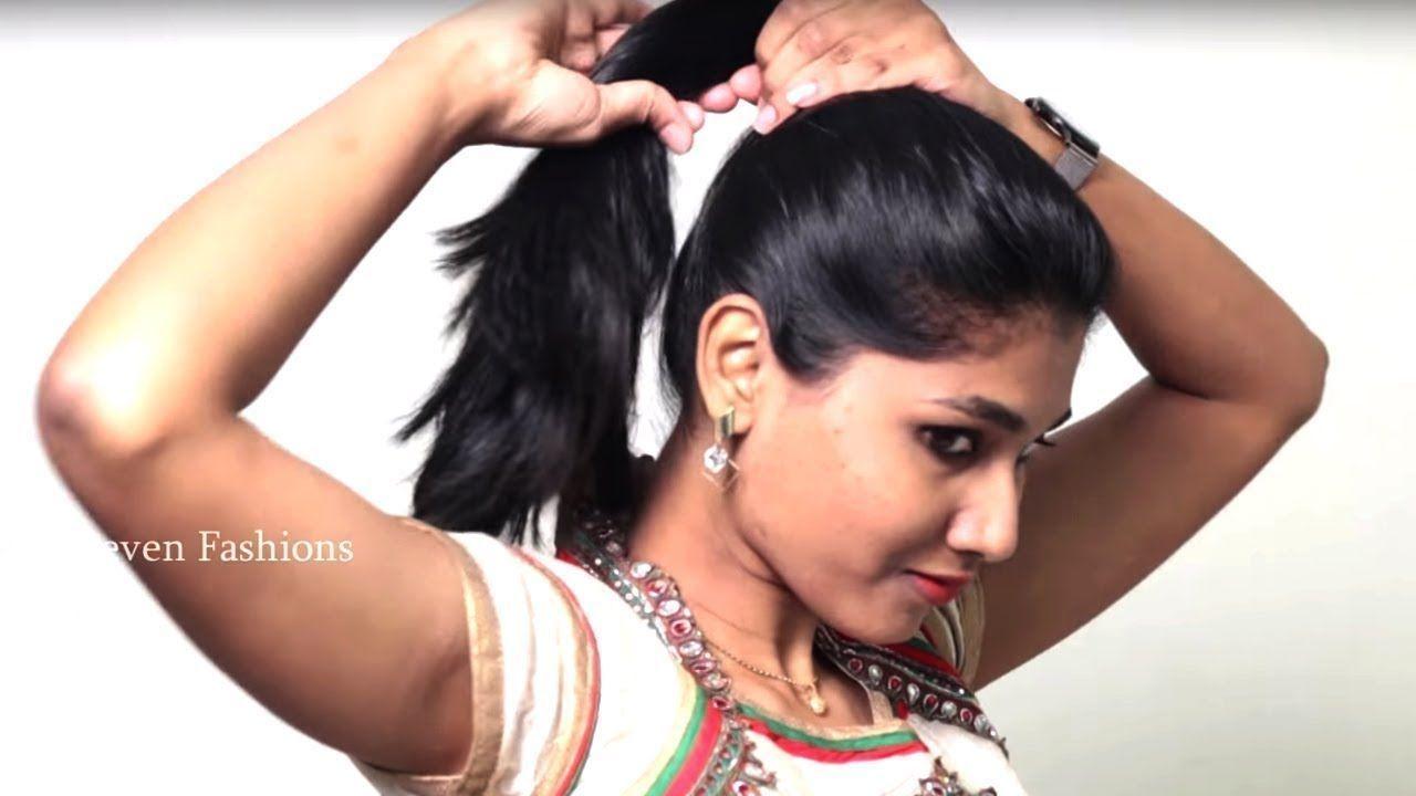 minute quick bun hairstyles for medium hair easy bun hairstyle