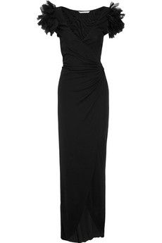 Diane von Furstenberg Beulah jersey wrap gown - 60% Off Now at THE OUTNET - via http://bit.ly/epinner