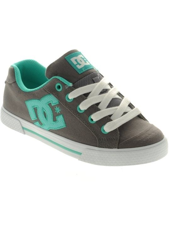 DC Grey-Green Chelsea Tx Womens Shoe   DC   FreestyleXtreme America    United States