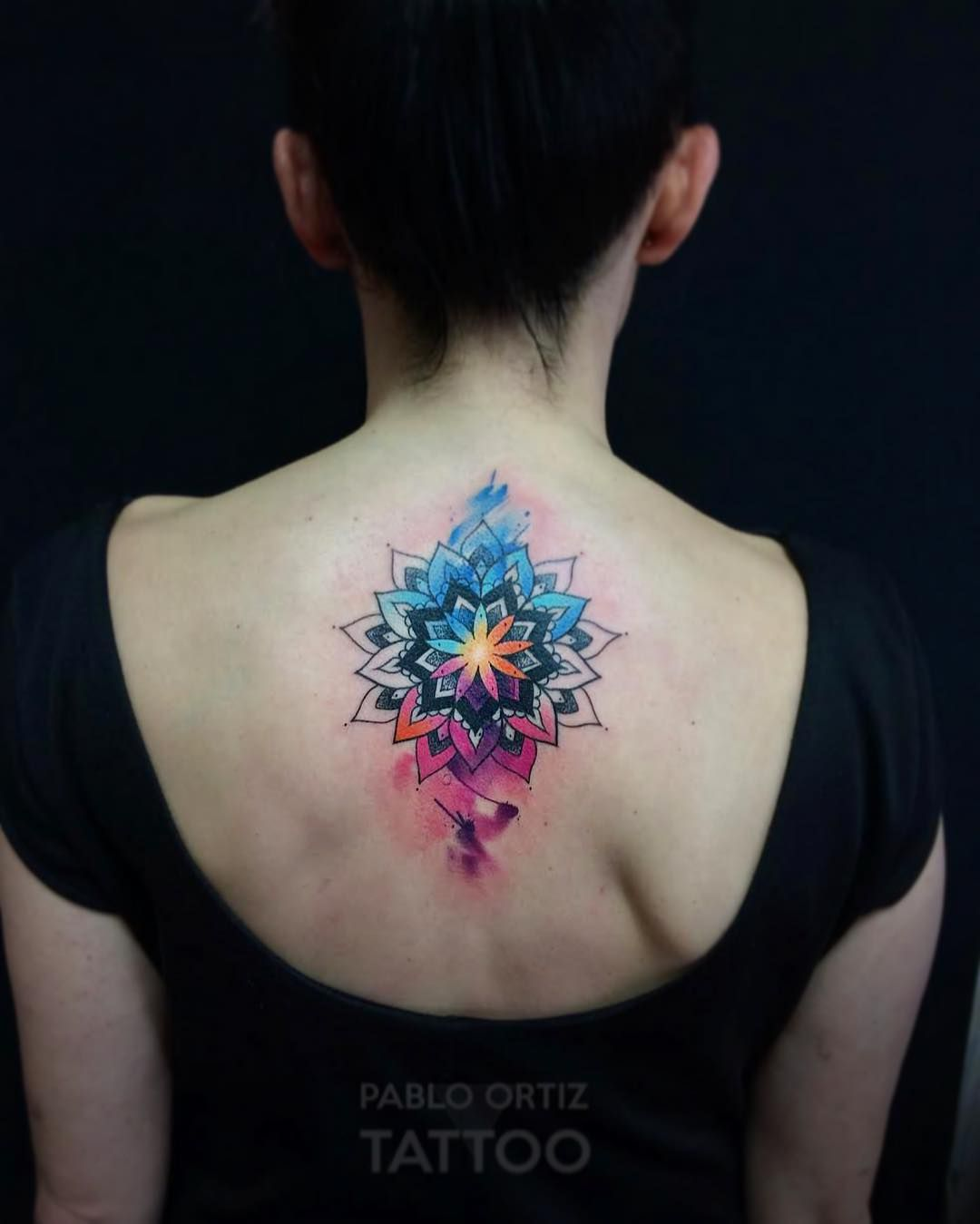 Watercolor Mandala Watercolor Mandala