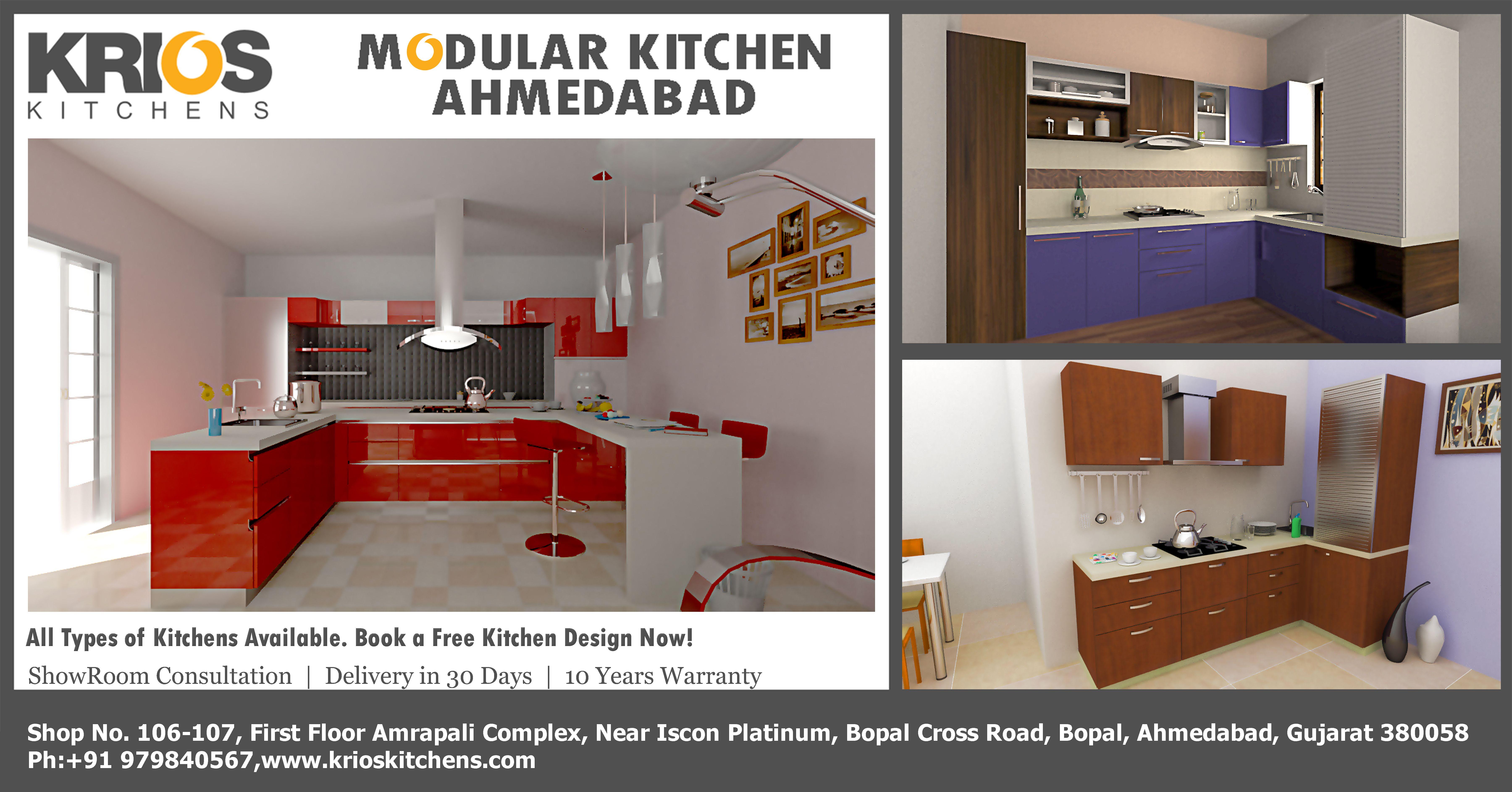 modular kitchen supplier in ahmedabad krioskitchens