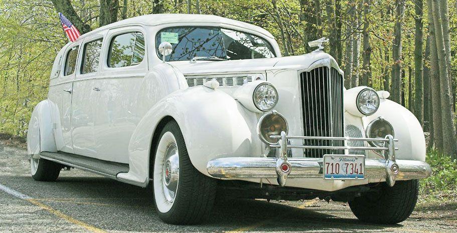 1939 Packard Limousine Gallery Classic Wedding Car