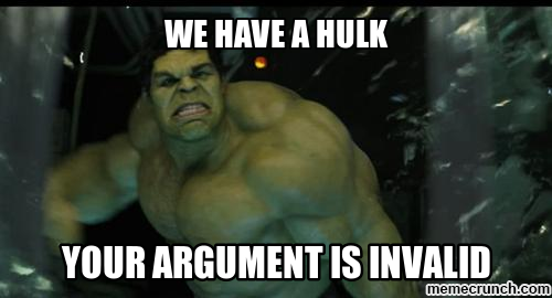 Image Result For Thor And Hulk Memes Hulk Lord Knows Id Smash Meme