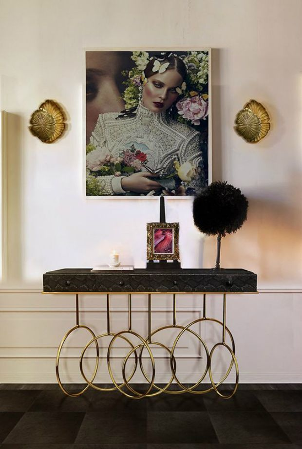 In order to make your living roomstand outthink about the space desired and make sure you include a console table.  www.bocadolobo.com #bocadolobo #luxuryfurniture #exclusivedesign #interiodesign #designideas #modernconsoletables #consoletable #consoleideas #luxuryfurniture #consoletableideas
