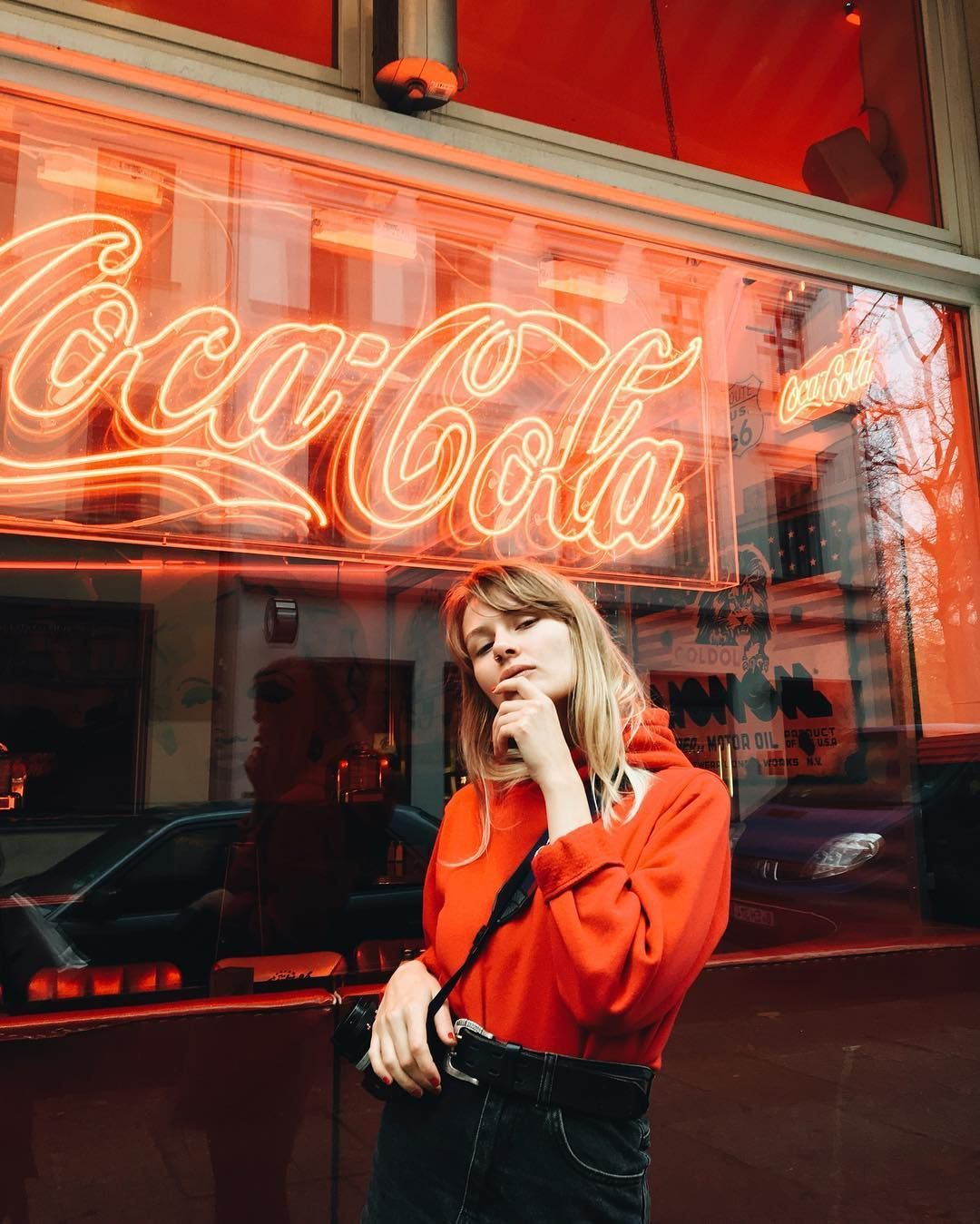 Neon Aesthetic, Red Photography