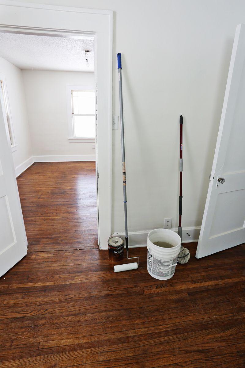 Refinishing Old Wood Floors  Michelle  Old wood floors
