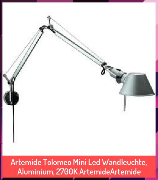 Artemide Tolomeo Mini Led Wandleuchte Aluminium 2700k Artemideartemide 2700k Aluminium Artemide Artemideartemide Diy Desk In 2020 Artemide Tolomeo Artemide Led