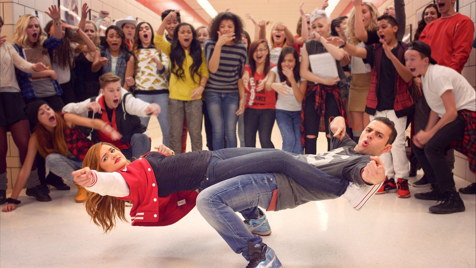 High School Dance Battle - Geeks Vs Cool Kids 4K  Dance Aholics -8840
