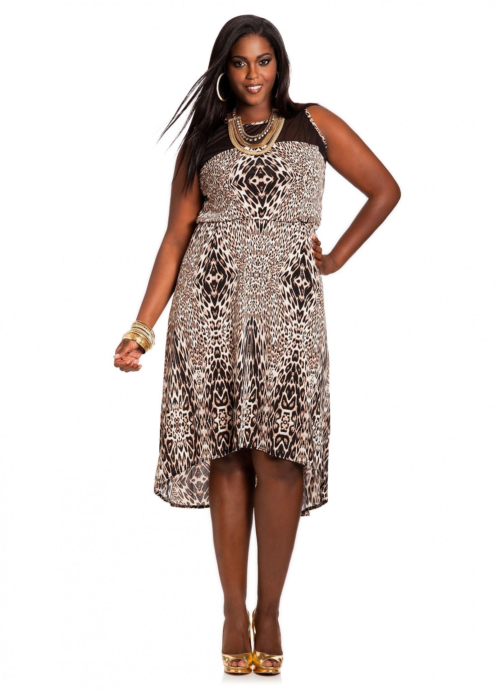 Ashley Stewart Animal Print Sheer Top Maxi Dress Maxi Dress Best Maxi Dresses Extra Long Maxi Dress [ 2230 x 1600 Pixel ]