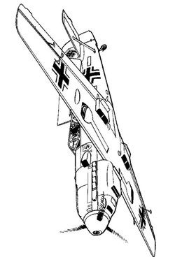 46 coloring pages of WWII Aircrafts | Wwii aircraft ...