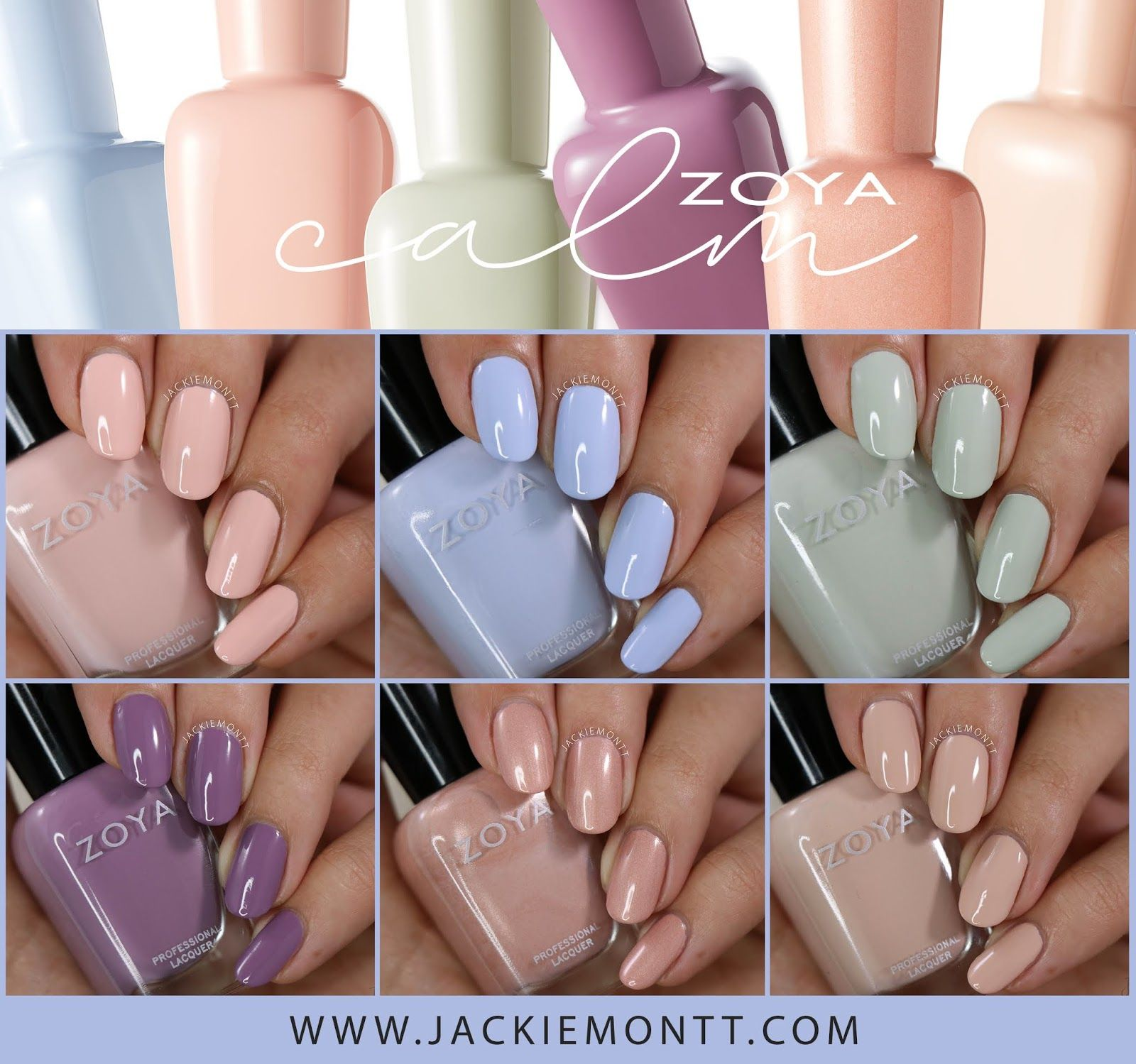 Zoya Calm Collection Spring 2020 In 2020 Dream Nails Manicure