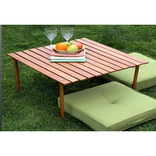 Table in a bag low wood table wood 28x28 x16 sale save 10 off the original - Low portable picnic table in a bag ...