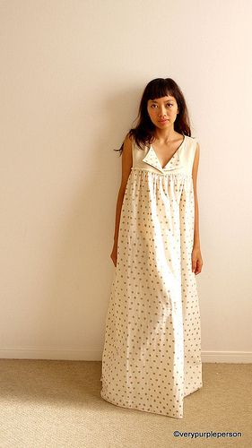 Easy nightgown to make for the girls