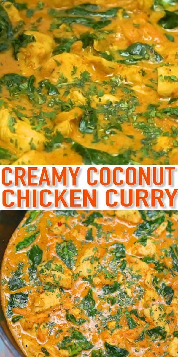 30-Minute Thai Chicken Coconut Curry Recipe