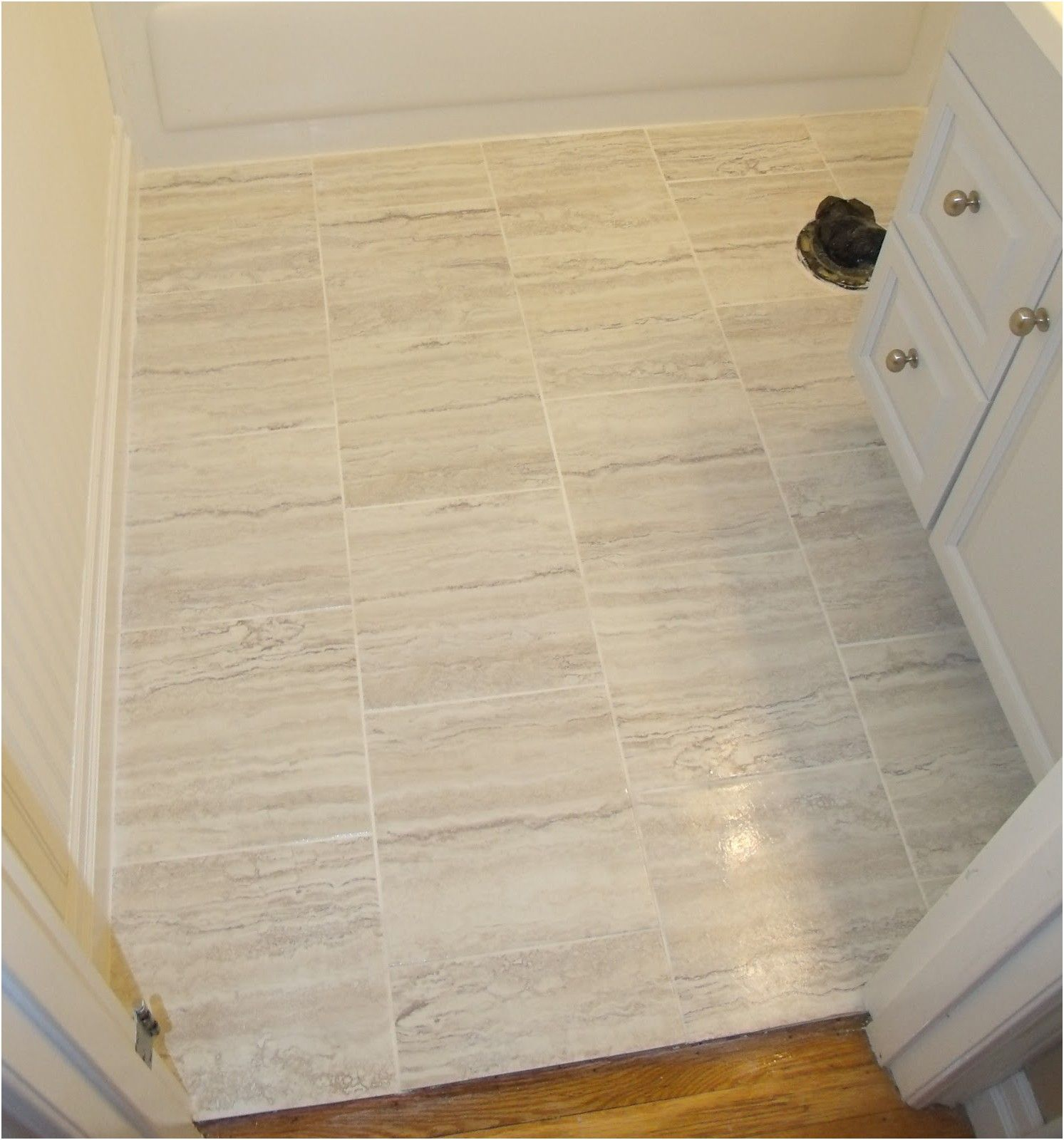 Awesome New Installing Vinyl Tiles In Bathroom Part 59