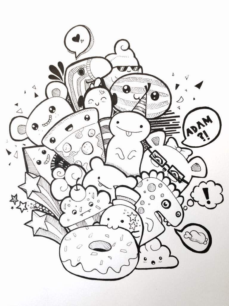 Pic Candle Inspired Doodle Art Amino Doodle Explosions Avec Et Dessin De Monstre…