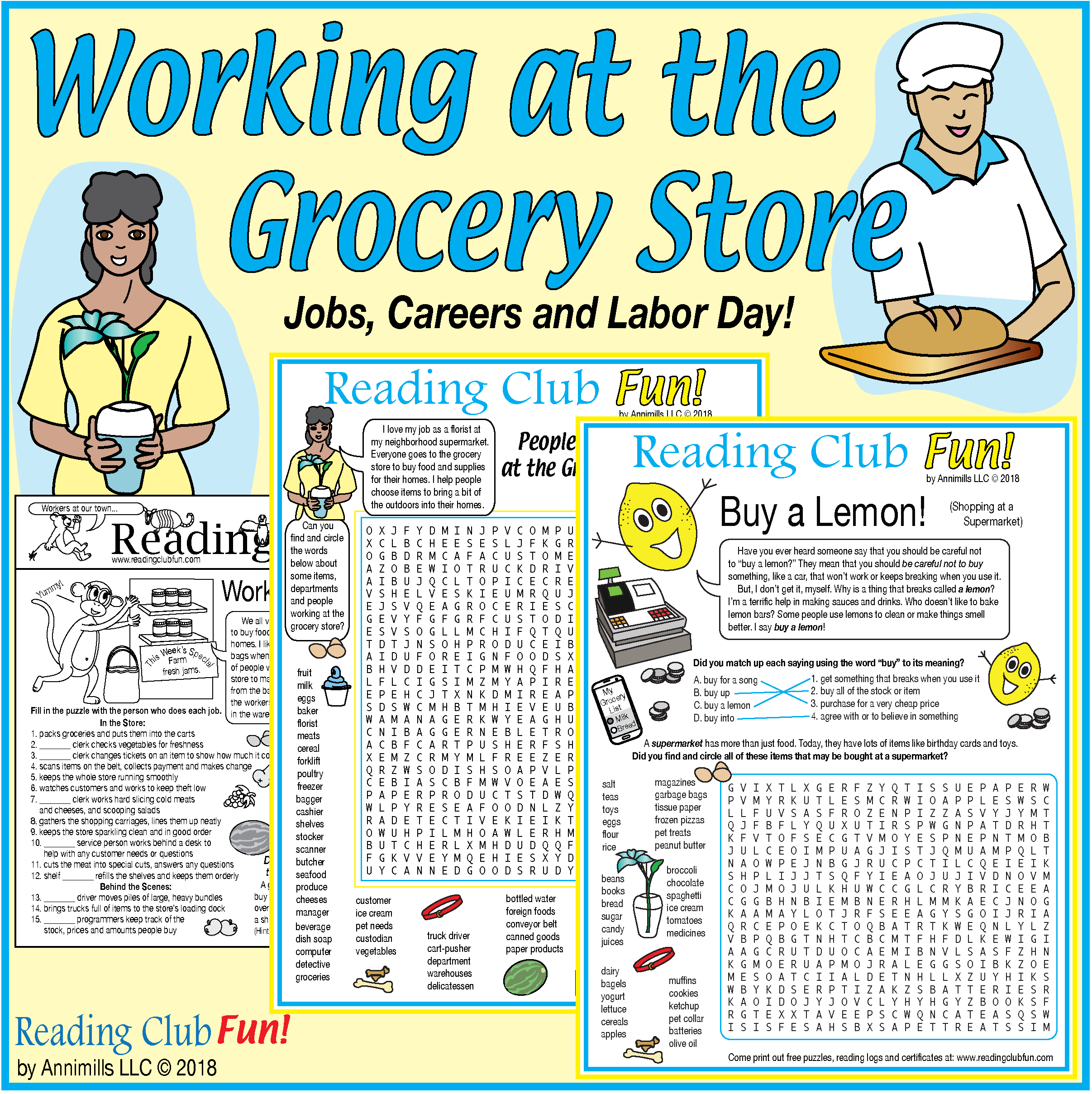 Working At The Grocery Store Jobs Careers Labor Day